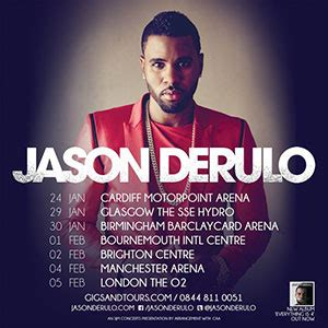 jason derulo poster jason derulo announces uk ireland tour for 2016
