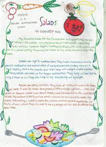 Favorite Food Essay Writing by Salads My Favourite Food The Alternative