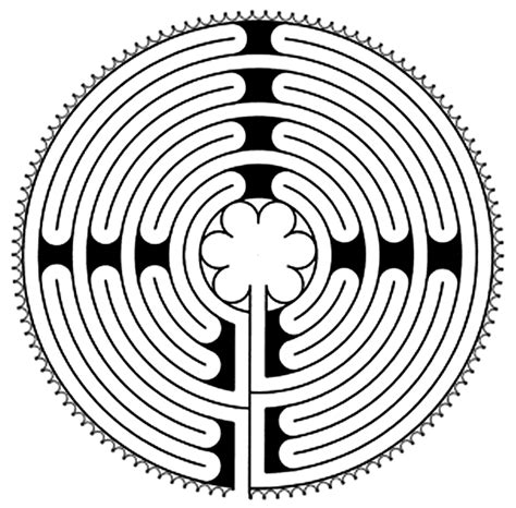 labyrinth template printable finger labrynth
