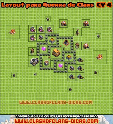 layout guerra cv 4 o jogador layouts cv 4 para guerra