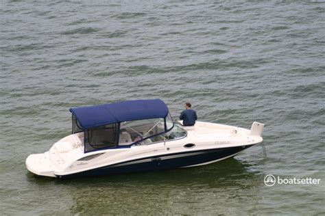 sea ray boats under 10 000 rent a 2008 29 ft sea ray boats 290 sundeck in fairfield