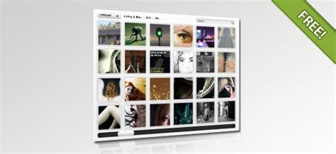 javascript gallery layout psd layout for flash javascript gallery psd file free