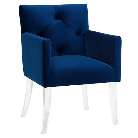 lorraine blue arm chair collectic home