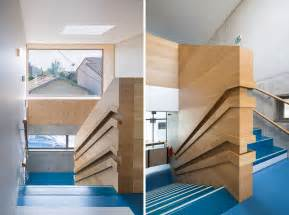 designer handrails creative wall mounted wood handrail design for and child