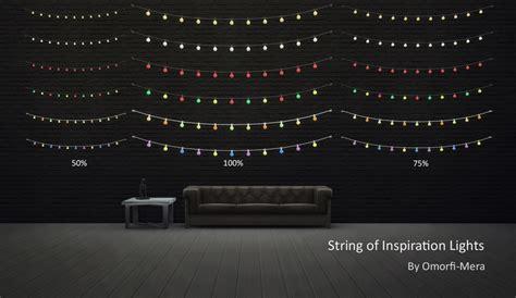 Bedroom Fairy Lights my sims 4 blog ts3 string of inspiration lights by omorfimera