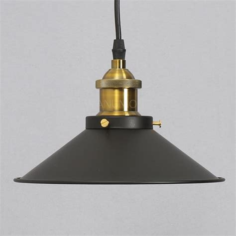 pendant ls without hard wiring industrial vintage diy metal ceiling ls shade pendant