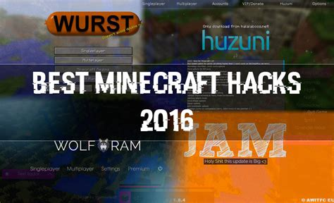 best hacks the best minecraft hacks of 2016