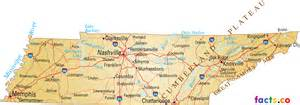 Tennessee Map With Cities And Towns by Tennessee Map Blank Political Tennessee Map With Cities