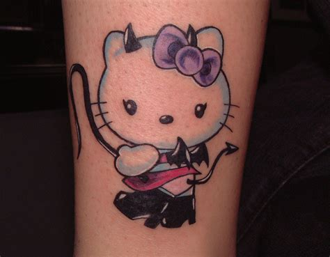 hello kitty tattoo design 31 hello design entertainmentmesh