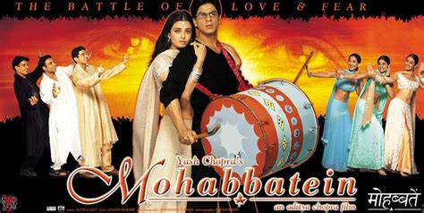 film india lama mohabbatein bollywood dialogues mohabbatein dialogues