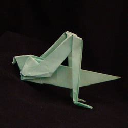 Grasshopper Origami - origami insects