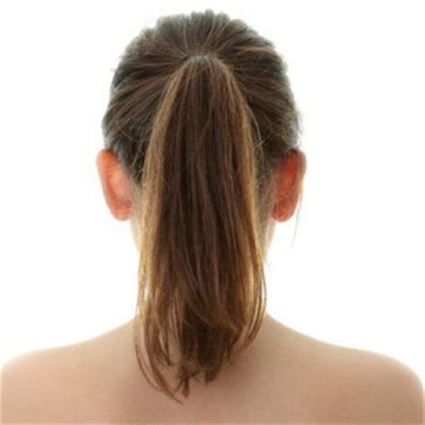 long hair  shaped  ponytail hairstyle stars