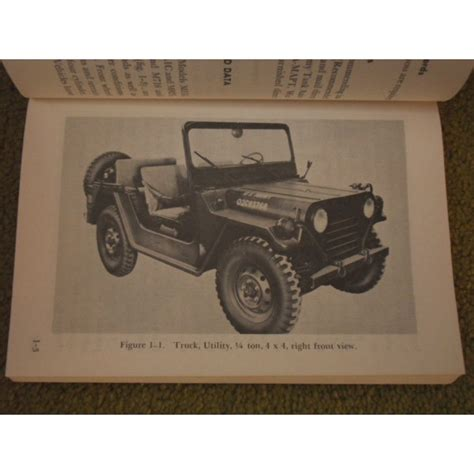army jeep instructions us military jeep ford mutt m151 operators manual