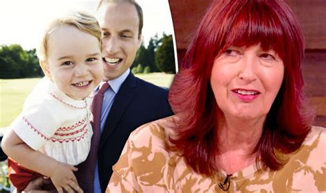 janet street porter shocks viewers by calling prince george a cross dressing millionaire