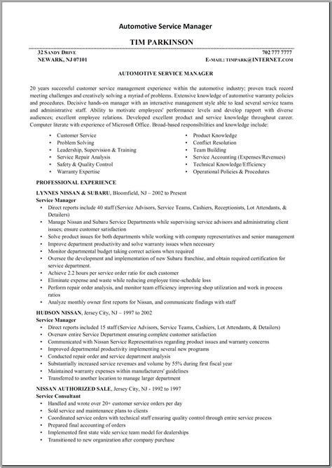 Resume Sles Mechanic Diesel Mechanic Resume Sales Mechanic Lewesmr