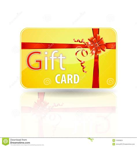 Gift Card Images Stock - gift card stock images image 11933824