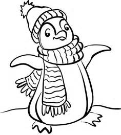 free printable penguin coloring pages for