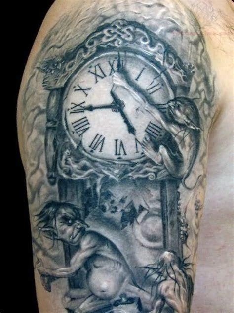 10 amazing gargoyle tattoo designs gargoyle and clock search