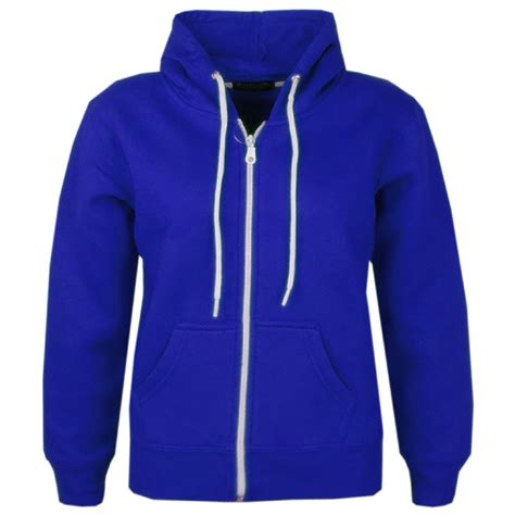Zipper Plain Hoodie new children boys zip up plain hoodie jacket