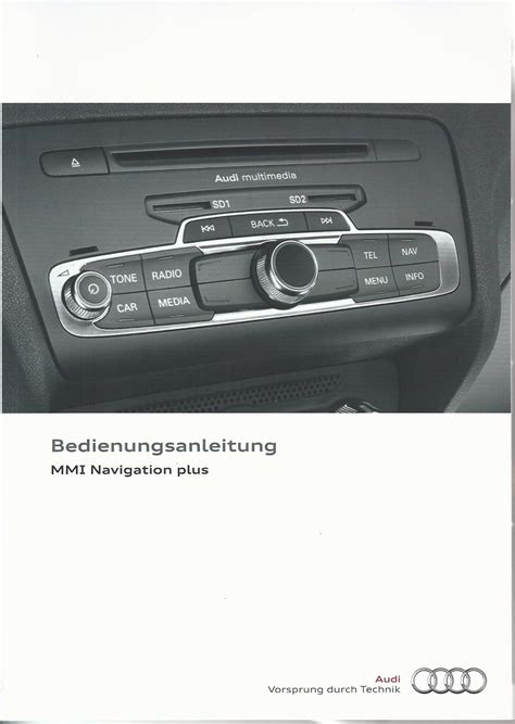 Audi A1 Bedienungsanleitung by Audi Mmi Navigation Plus Betriebsanleitung 2013 2014