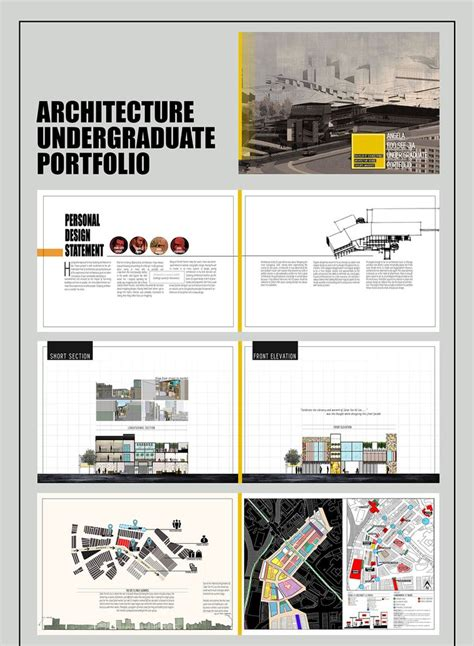 architecture portfolio design templates 17 best ideas about architecture portfolio layout on