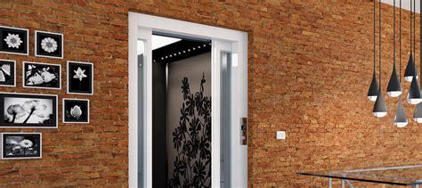 ascensore per interni domuslift carbon ascensore per interni