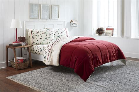 red down alternative comforter cannon down alternative comforter red