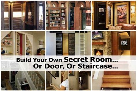 build your own apartment build your own secret room or door or staircase