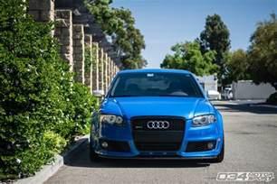 B7 Audi Arturo S Scintillating Sprint Blue B7 Audi Rs4