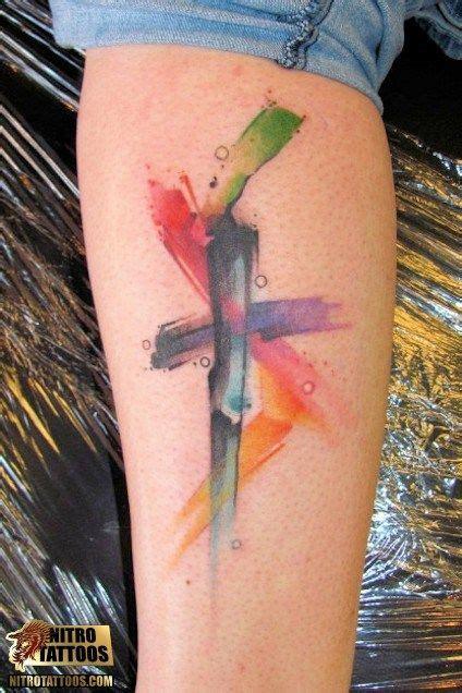 abstract cross tattoo best cross tattoos cross tattoos