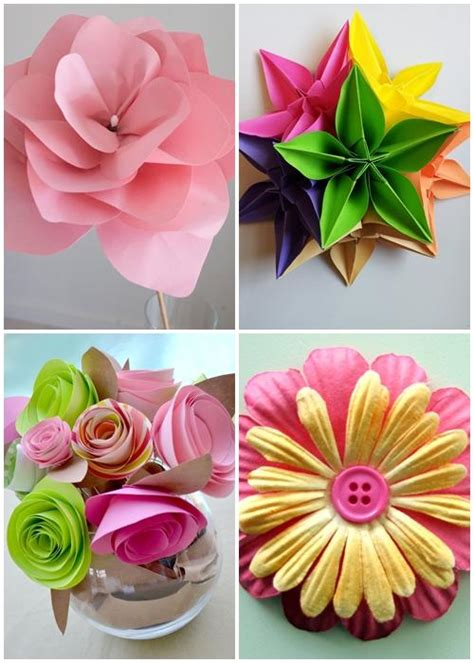 How To Make A Paper Design - diy paper flower designs android apps on play