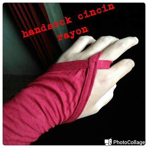 Sarung Tangan Kiper Grosir jual handsock cincin akhwat sarung tangan wanita murah