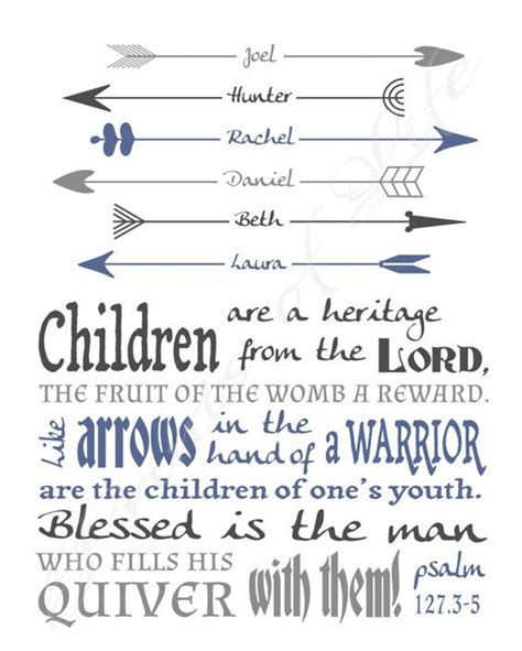 themes in arrow of god pdf personalized gift for dad children are a heritage psalm