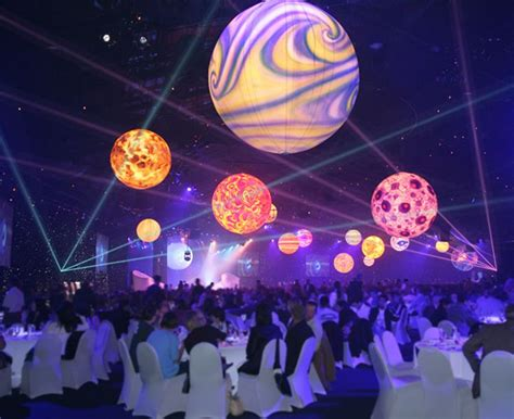 an outer space themed gathering by disney event carnival 2017 outer space