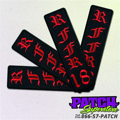custom patches embroidered patches patchsuperstore custom rffr patches patchsuperstore