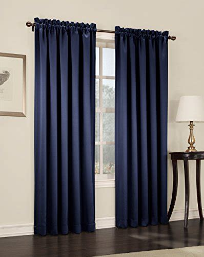 curtains 54 inches long sun zero barrow 54 by 84 inch room darkening curtain panel
