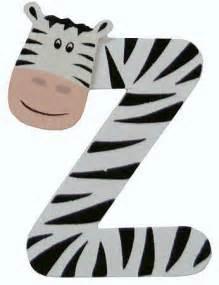 2 3 4 quot painted alphabet letter quot z quot animal scrapbooking