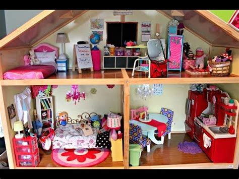 my american doll house american girl doll house tour bratayley 2015 american girl doll house tour