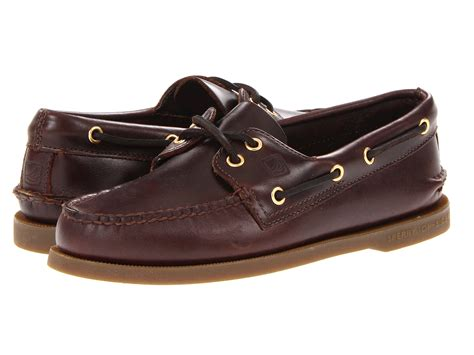 Original Sperry Top Sider sperry authentic original amaretto zappos free