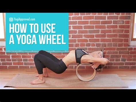 best yoga tutorial on youtube how to use a yoga wheel video tutorial youtube