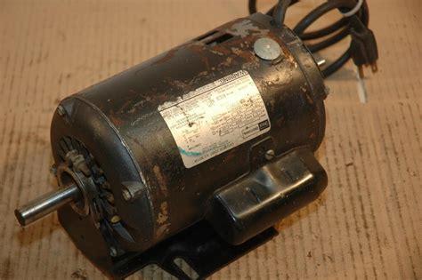 craftsman table saw motor replacement craftsman 1 h p table saw motor dual shaft model 113 12171