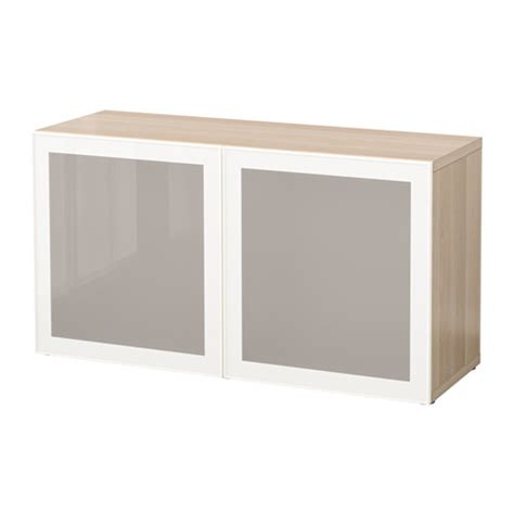 ikea besta shelf unit with doors best 197 shelf unit with glass doors white stained oak