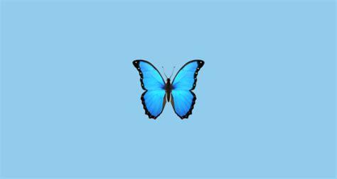 butterfly emoji  apple ios