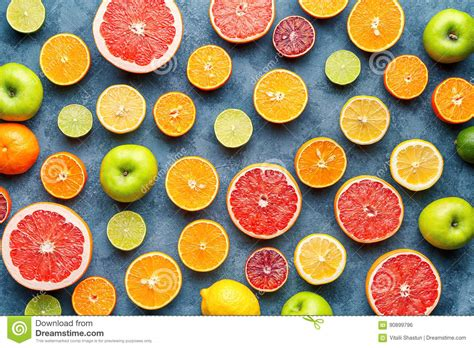 What To Eat After A Fruit Detox by Healthy Food Background Royalty Free Stock Photo