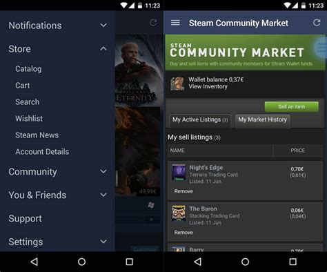 steam android steam for android adds all the features of the web client up4down net