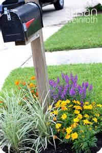 Landscape Mailbox Pictures Mailbox Landscaping On Mailbox Garden