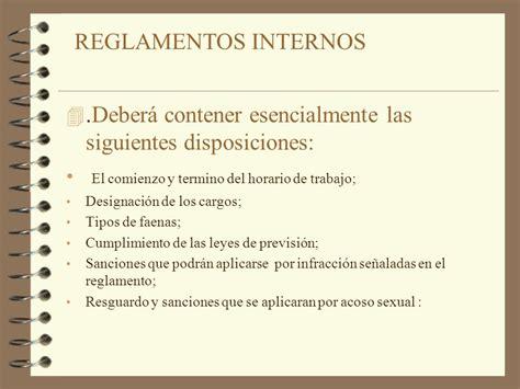 empleo no registrado multas de las leyes 24013 y 25323 reglamento interno c 243 digo del trabajo titulo iii art 153