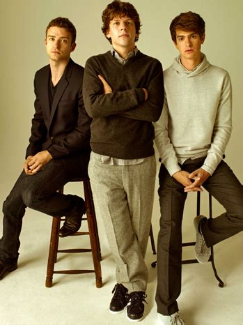 the social cast the social network cast 2010 hollywood reporter