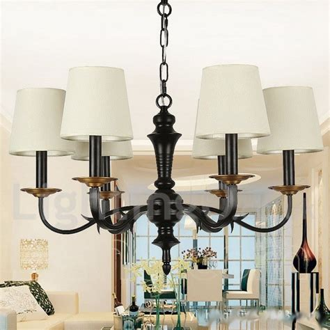 Style Dining Room Chandeliers 6 Light Dining Room Living Room Bedroom Rustic Retro