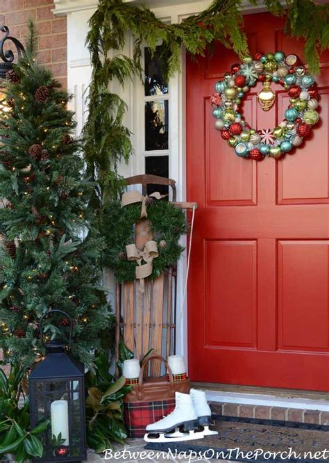 christmas porch decorations christmas porch decorating ideas